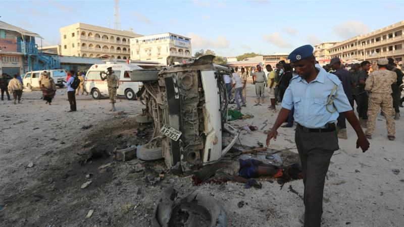 Seven killed by vehicle bomb explosion in Mogadishu