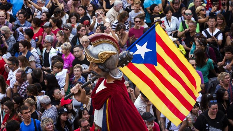 Catalonia referendum: One country, two stories