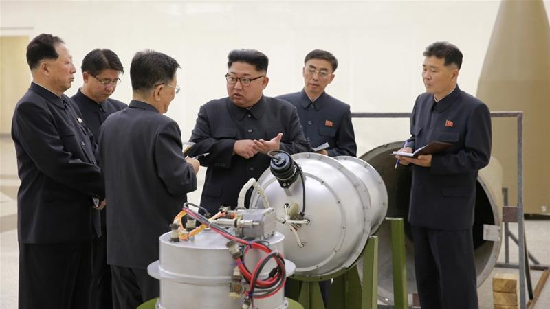 North Korea conducted its sixth and most powerful nuclear test on September 3 [Handout: KCNA/Reuters]