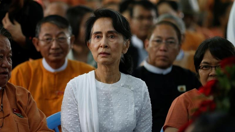 critics circle aung san suu kyi over rohingya crisis myanmar news al jazeera. Black Bedroom Furniture Sets. Home Design Ideas
