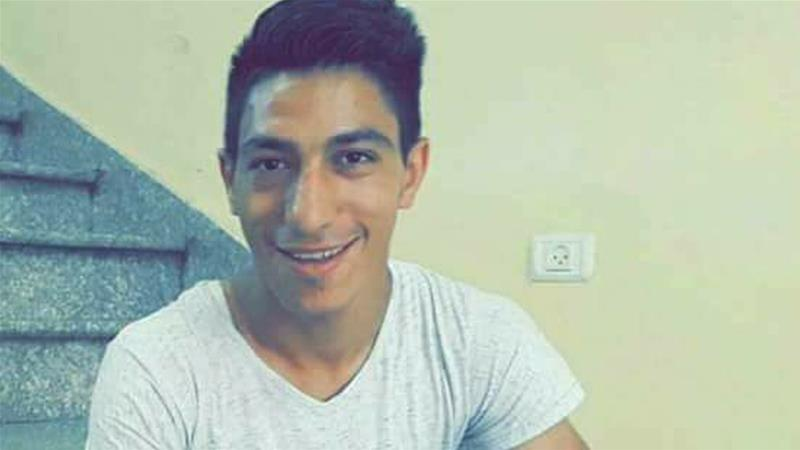 Israeli troops fired shots at Raid Al Salhi at close range, an official said [Raid Al Salhi/Facebook]