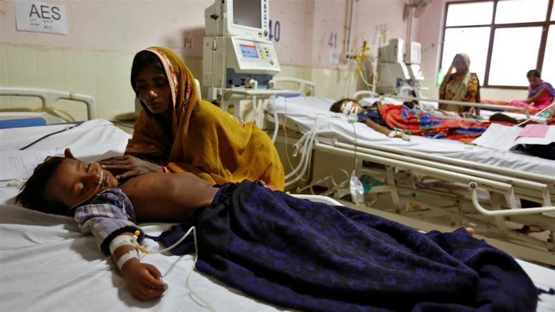 49 children die due to lack of oxygen in India hospital