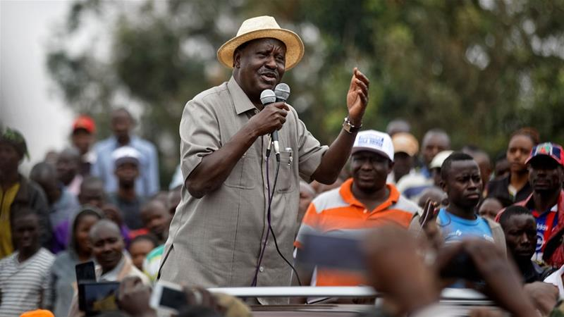 Kenya's Odinga: No election rerun without 'guarantees'