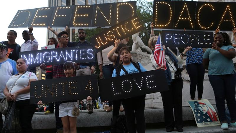 What is the fallout from Trump's DACA scrapping?