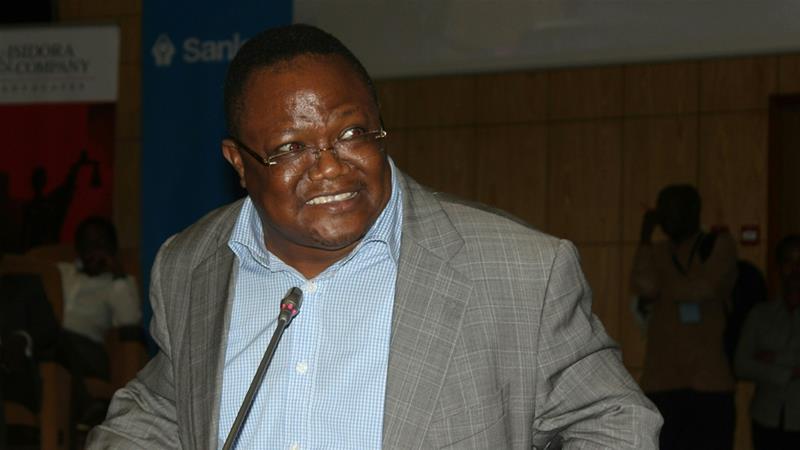 Tanzania opposition leader Tundu Lissu at Aga Khan
