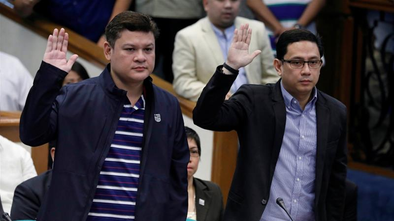 Malacañang to Trillanes: Prove Paolo Duterte is triad member