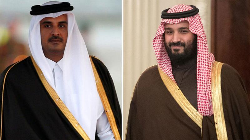 Leaders of Qatar, Saudi Arabia speak by phone amid ongoing crisis
