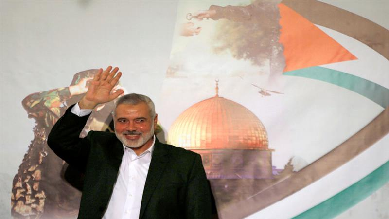 Hamas leader in Egypt capital for Gaza siege talks