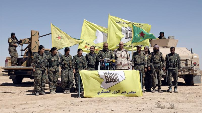 Image result for Al jazeera tempest SDF fighters haijin