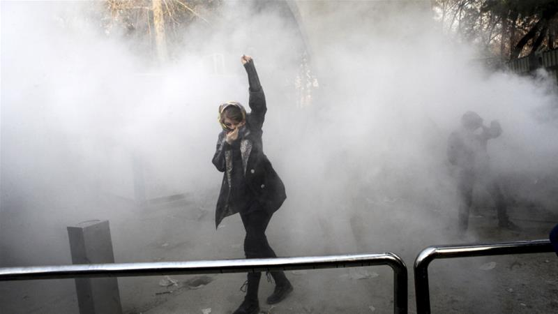 Why Did Protests Erupt In Iran Middle East Al Jazeera