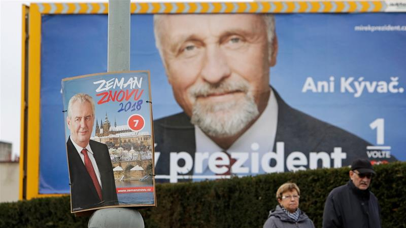 Zeman leads Czech presidential vote, partial results show