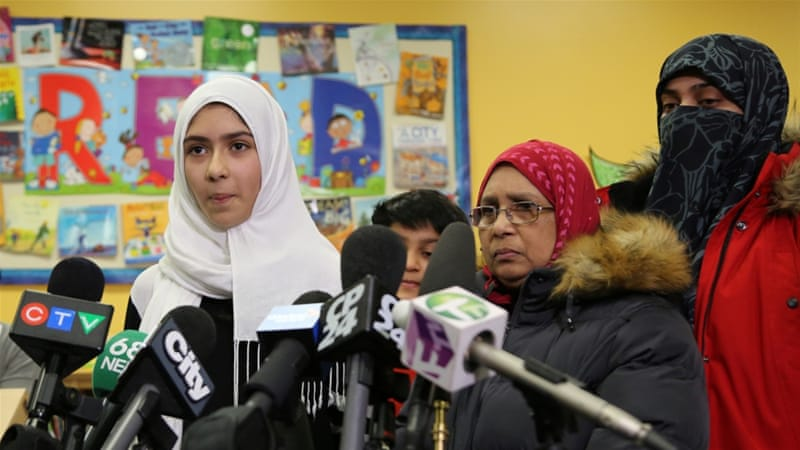 Toronto Muslim girl 'scared' after attacker cuts hijab