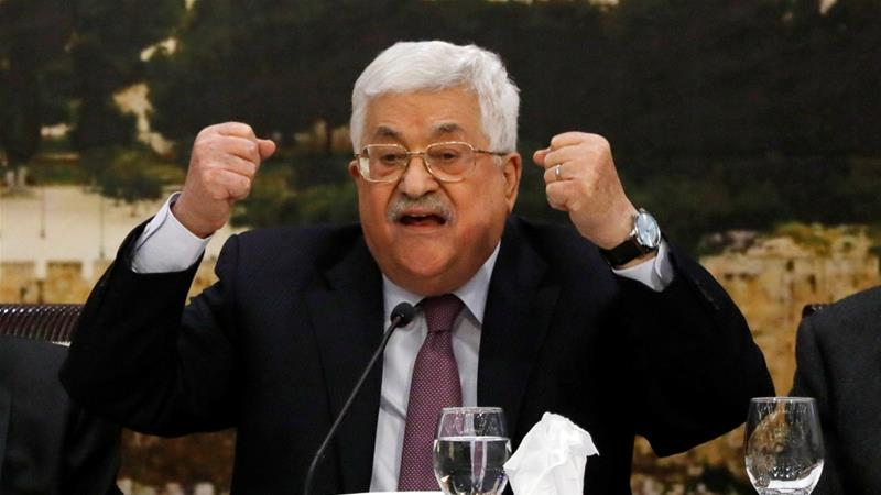 "Mahmoud Abbas said that if the ""assassination attempt"" had succeeded, the attack would have opened the door for a bloody civil war [File: Mohamad Torokman/Reuters]"