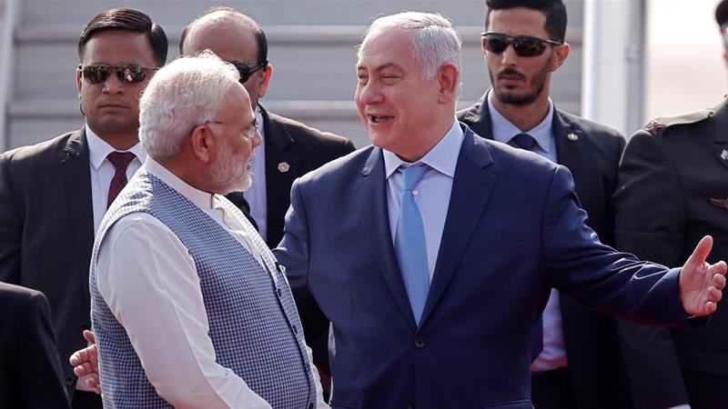 India's Modi gives warm welcome to Israel's Netanyahu | Asia | Al