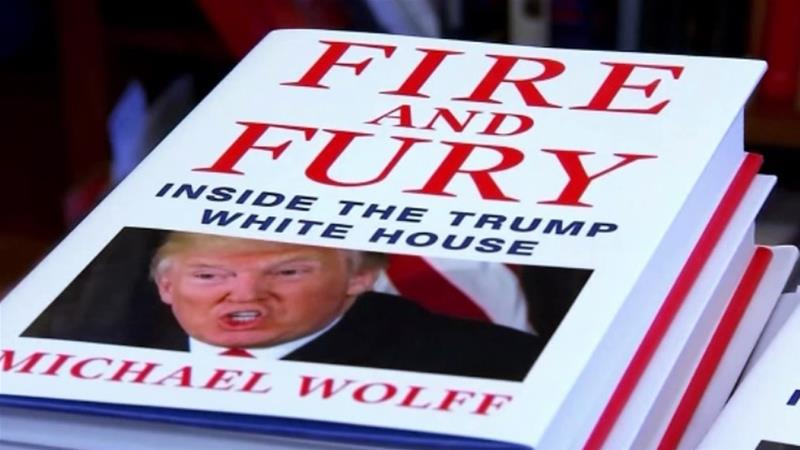 Blaze of fire and fury: Trump insight or fiction?