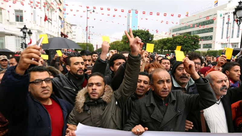 Why are Tunisians protesting?