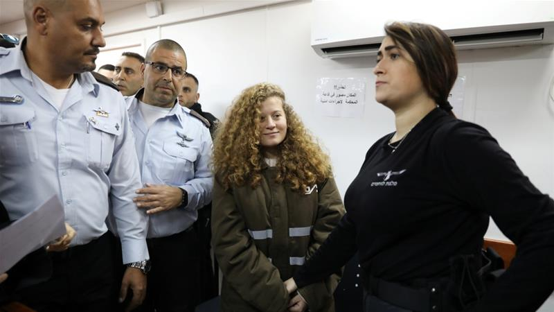 'Ahed and Nariman Tamimi remanded in custody as military prosecution requested