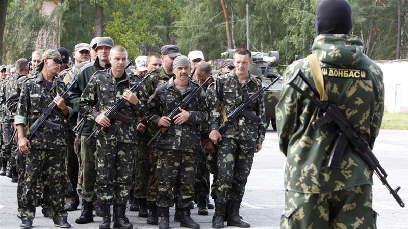 Ukraine declares Russian 'occupation' in eastern region