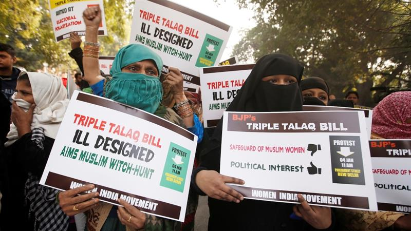 Indian cabinet clears ordinance to make triple talaq penal offence