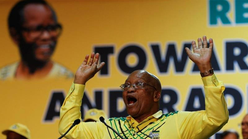 South African President Jacob Zuma [Photo/Siphiwe Sibeko/Reuters]