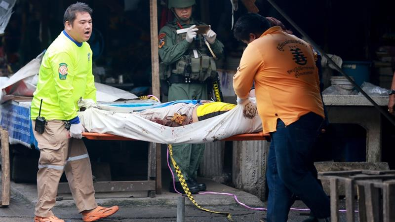 Thailand: Three killed in Yala market bombing