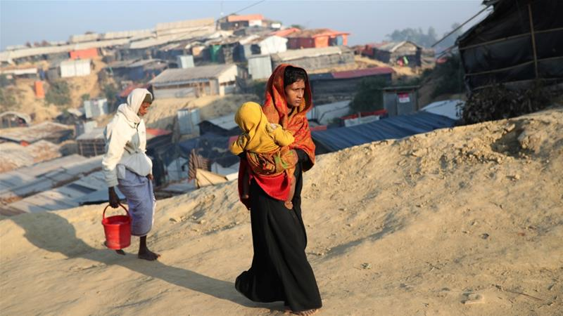 Refugees a couple of times, Rohingya fear return to Myanmar
