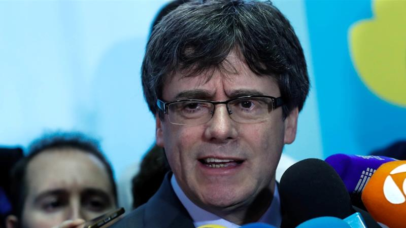 Spain turns to court to block Puigdemont