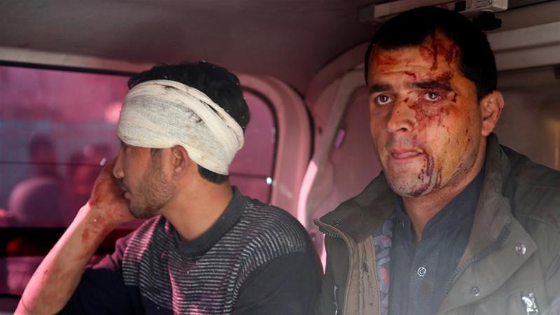 10 killed, almost  80 injured in Kabul blast