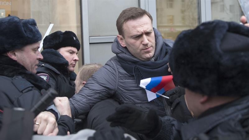 Navalny and Russia's crackdown on critical voices