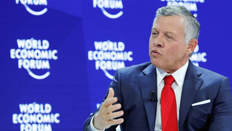 King Abdullah II said in Davos that Iran policies pose major challenges in Syria, Lebanon and Yemen [File: Reuters]