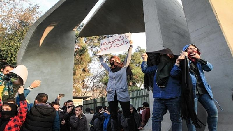 Is the unrest in Iran anti-establishment?