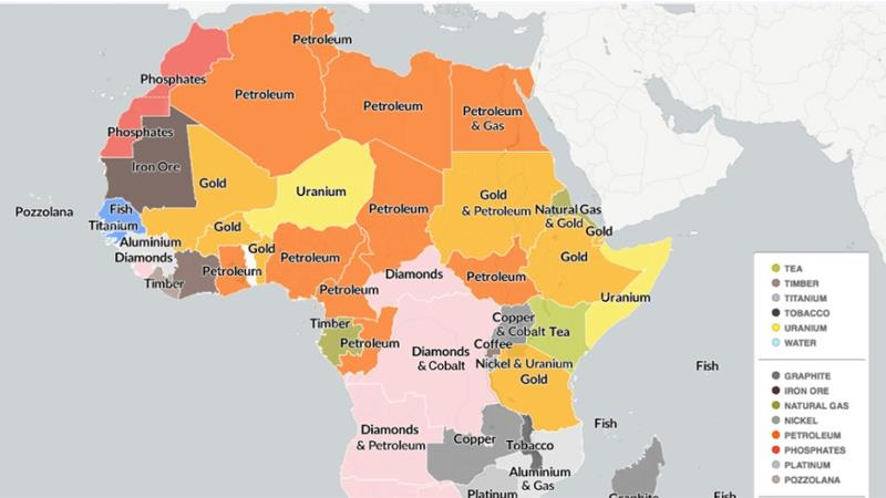 Natural Resources Found In Sub Saharan Africa