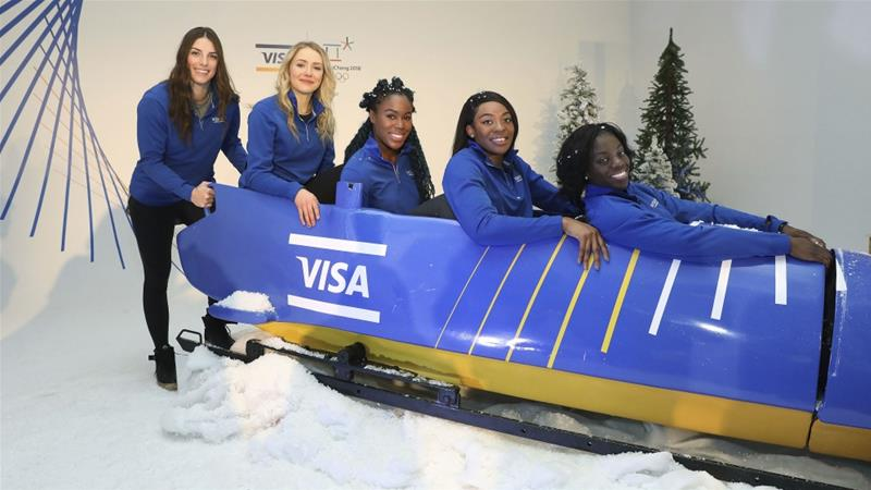 Nigerian Women's Bobsled Team [AP]