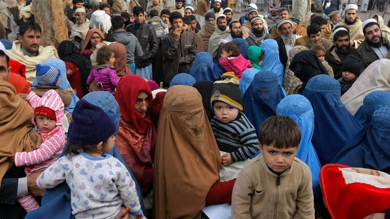 Pakistan is home to at least 1.38 million registered Afghan refugees, according to the UNHCR [Mohammad Sajjad/The Associated Press]