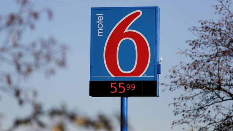 Motel 6 'provided US immigration officials guest names
