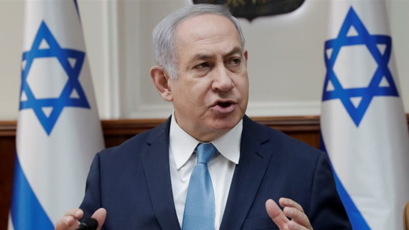 The proposed law is backed by Israeli Prime Minister Benjamin Netanyahu [Tsafrir Abayov/Reuters]