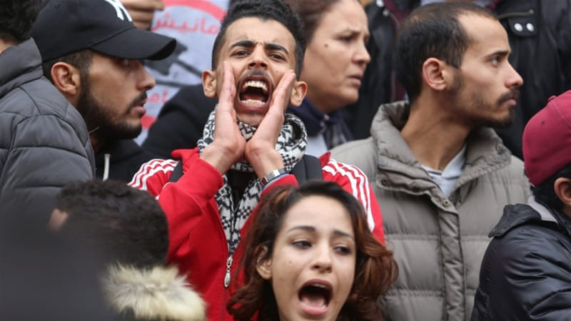 Demonstrators Protest Against Rising Prices And Tax Increases In Tunis Zoubeir Souissi Reuters