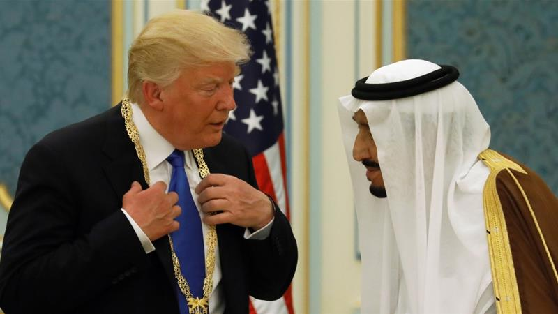 Trump wants Saudi to pump more oil to maintain market stability and global economic growth [Daylife]