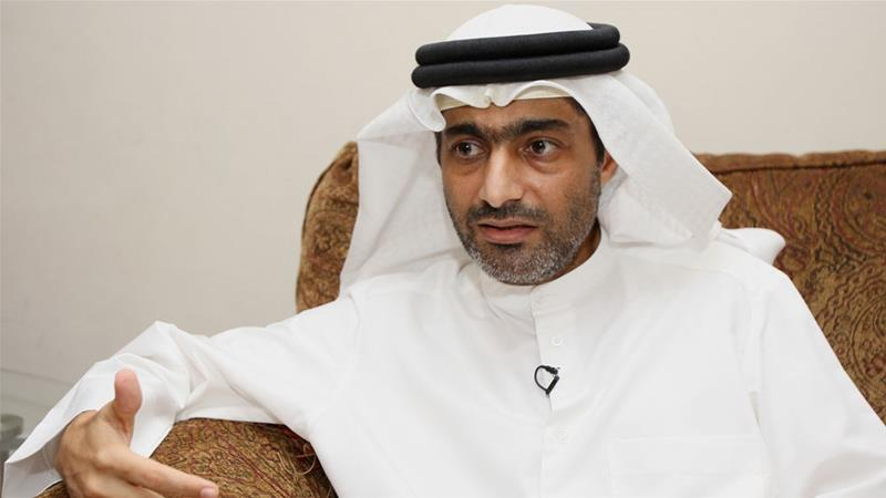 Mansoor was sentenced after being found guilty of 'defaming the UAE' [File: Nikhil Monteiro/Reuters]
