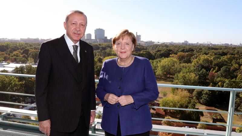 Turkish President Recep Tayyip Erdogan was on a three-day visit to Germany in September [Anadolu]