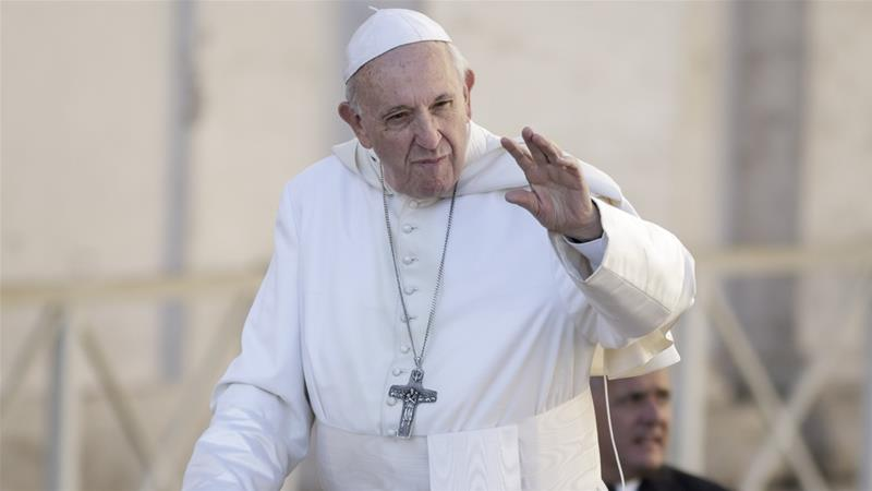 Pope Francis says abortion is like hiring a'contract killer