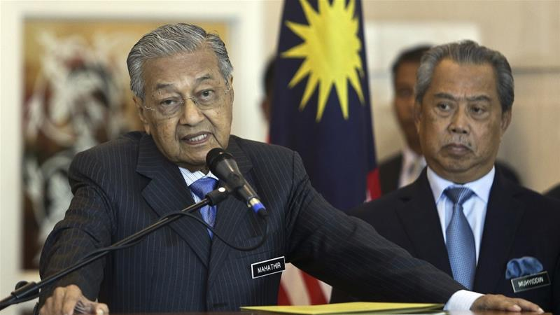 PM Mahathir Mohamad's alliance, which won a stunning election upset this year, had promised upholding human rights [Sadiq Asyraf/AP Photo]