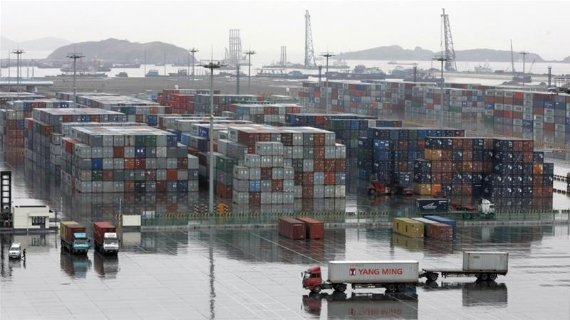 China's trade surplus with the U.S. hit record highs in September