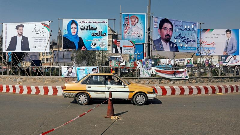 Since campaigning for Afghan elections began, three attacks have taken place, killing over 30 people [Omar Sobhani/Reuters]