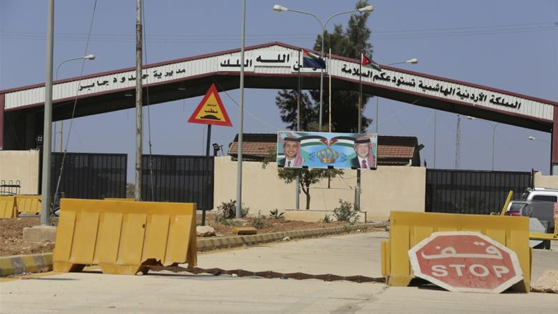 Jordan, Syria reopen border crossing