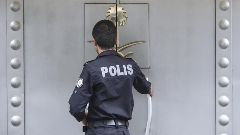 Turkish police finish search of Saudi consulate as Pompeo heads to Riyadh