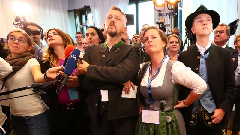 Merkel's Bavarian allies humbled in historic election setback