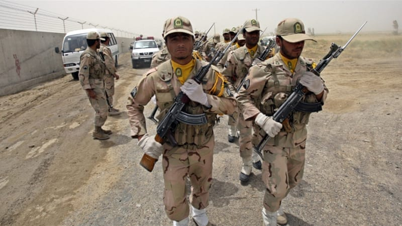 Iranian security forces kidnapped on Pakistan border