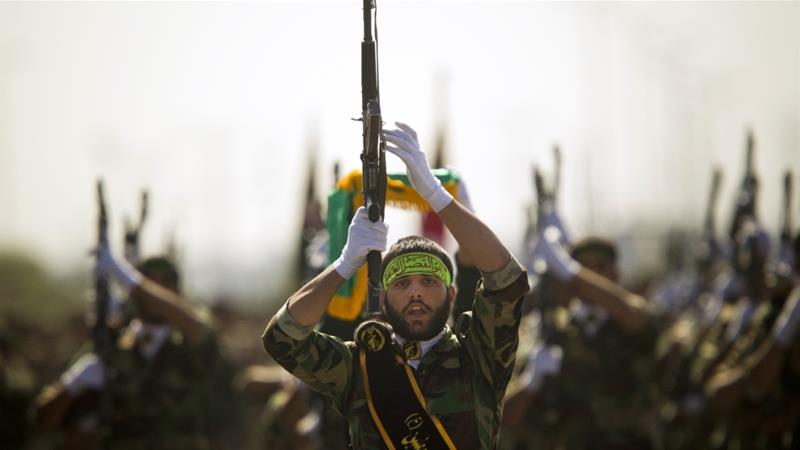 USA  announces sanctions on Iranian paramilitary force