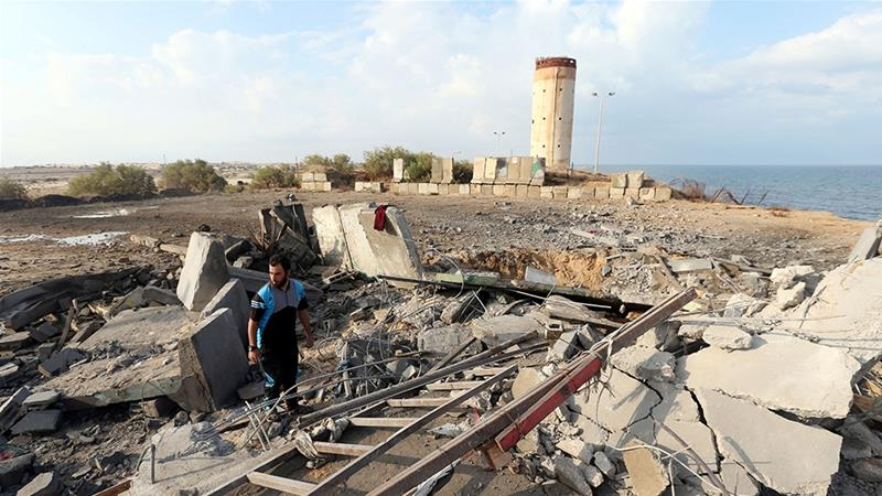 This attack comes a week after Israel carried out 20 air attacks following a rocket strike in the southern Israeli city of Beersheba [File: Ibraheem Abu Mustafa/Reuters]